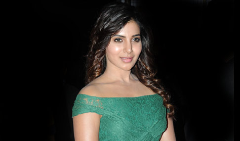 Samantha Stills at Sikandar Audio Launch