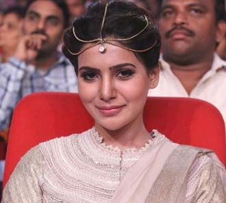 Samantha at Alludu Seenu Audio