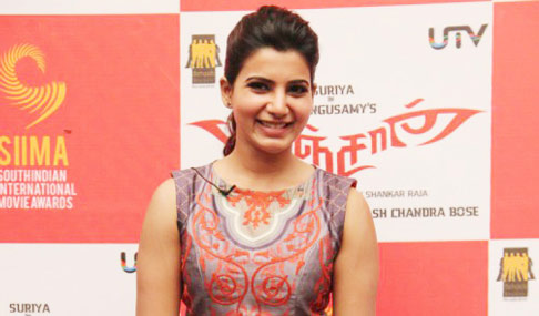 Samantha at Anjaan Pressmeet