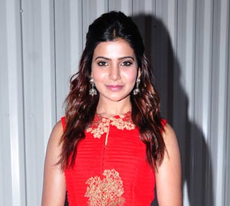 Samantha at Lovers Audio Launch
