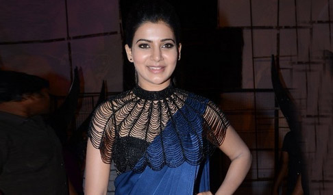 Samantha at Rabhasa Songs Release