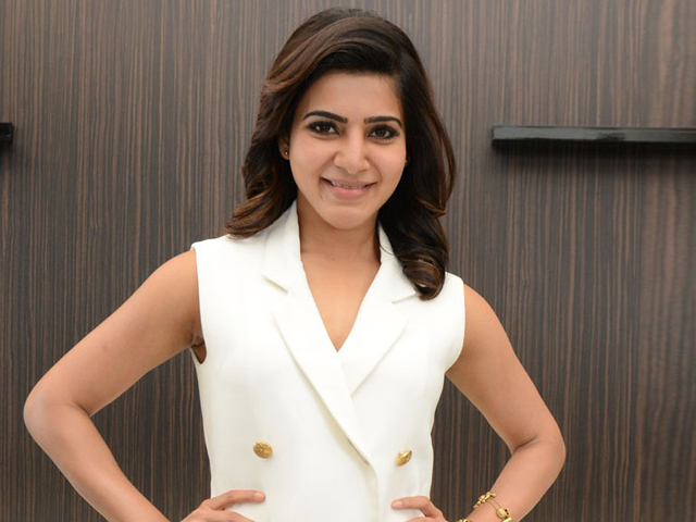 Samantha Interview Photos