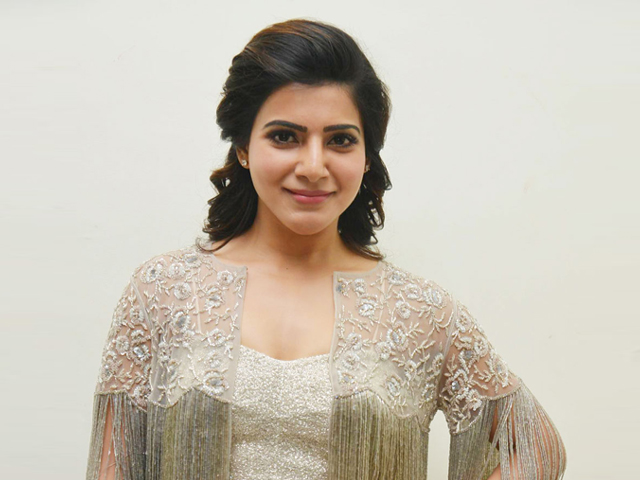 Samantha at A Aa Audio Launch