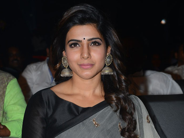 Samantha at Brahmotsavam Audio Release