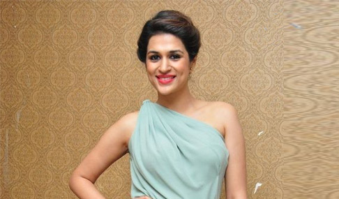 Shraddha Das at Superstar Kidnap Press Meet