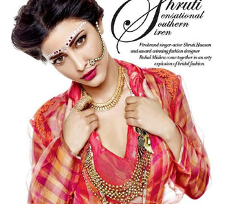 Shruthi Hassan Photo Shoot Pics