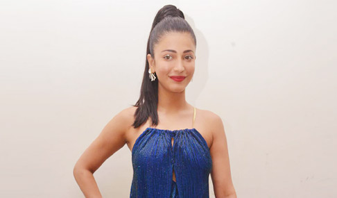 Shruti Haasan at Srimanthudu Audio Release