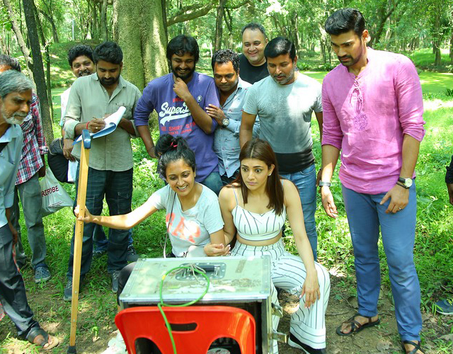 Sita Movie Working Stills