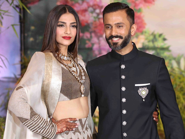 Sonam Kapoor And Anand Ahuja Wedding Reception