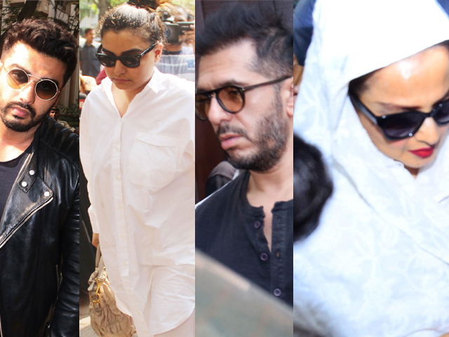 Bollywood Celebs Visit Anil Kapoor House