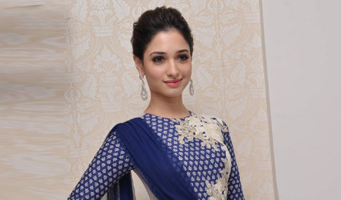 Tamanna Stills at Alludu Seenu Platinum Disc Function