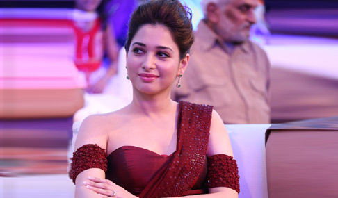 Tamanna at Baahubali Audio Launch