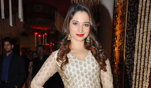 Tamanna at TSR Grandson Wedding