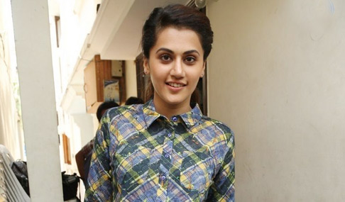 Tapsee Ganga Interview Photos