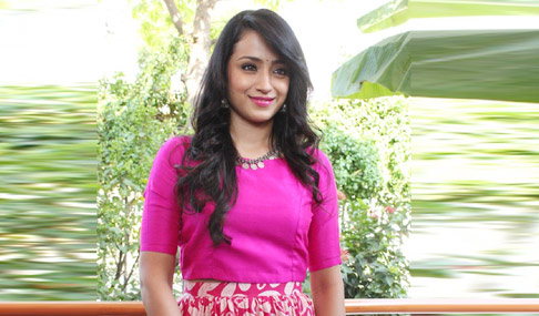 Trisha Stills at Nayagi Pooja