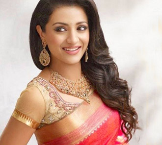 Trisha in Bridal Wear Photos