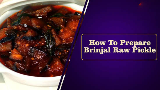 Brinjal Raw Pickle