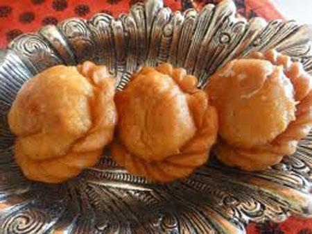 Badusha Sweet Recipe