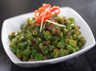 Batani Capsicum Curry