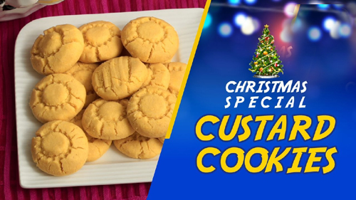 Custard Cookies (Christmas Special)