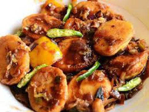 Egg Manchuria Recipe