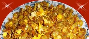 Egg Potato Fry