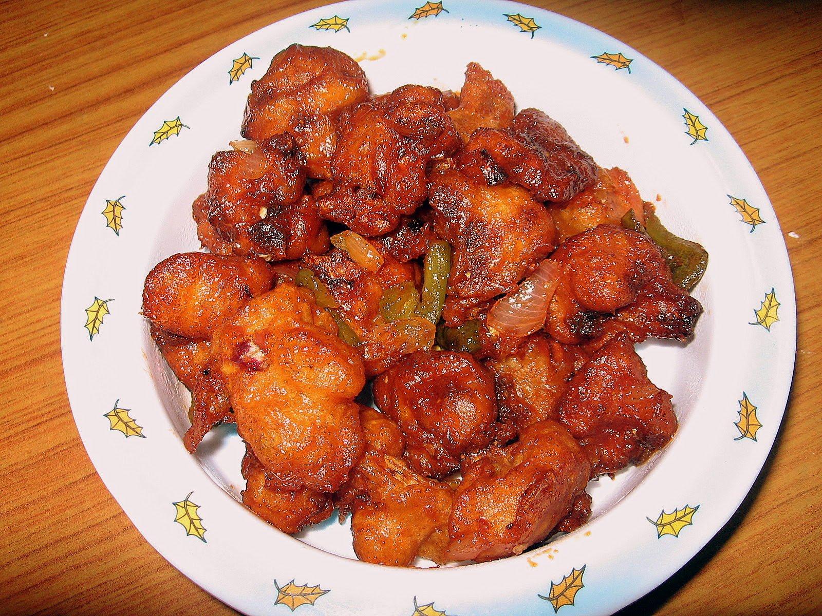 Chicken Manchuria Recipe
