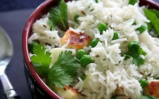 Indian food recipes telugu recipes andhra recipes andhra green pulav rice recipe forumfinder Gallery