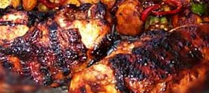 Grilled Chicken Kebab