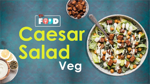 How to Make Caesar Salad Veg