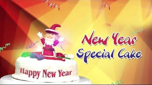 New Year Special Cake
