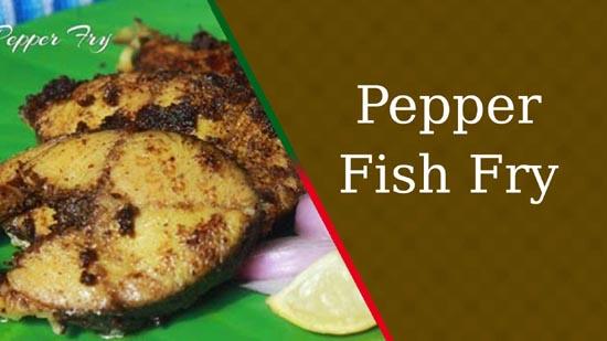 Pepper Fish Fry