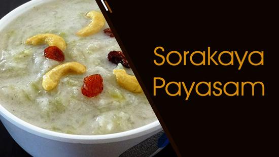 Sorakaya Payasam