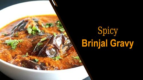 Spicy Brinjal Gravy
