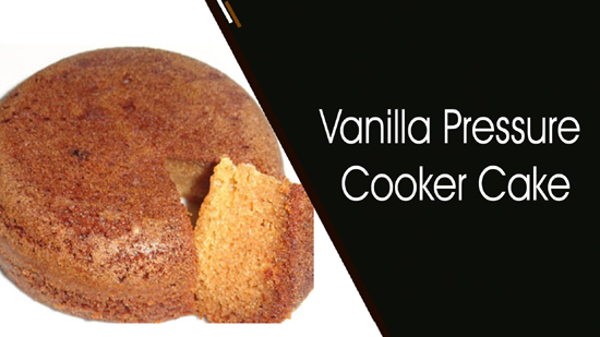 Vanilla Pressure Cooker Cake