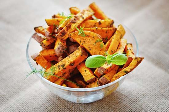 Winter Snack- Spicy Potatoes