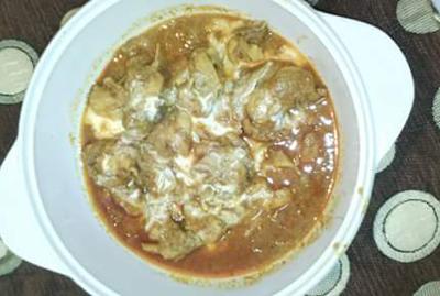 Chicken Badam Pasanda