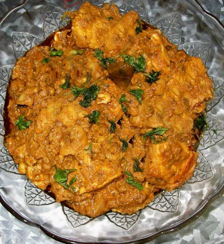 Chicken Senagapappu Curry Recipe