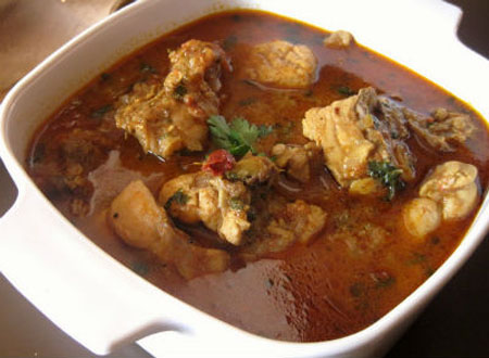 Indian food recipes telugu recipes andhra recipes andhra chicken coconut curry recipe forumfinder Choice Image