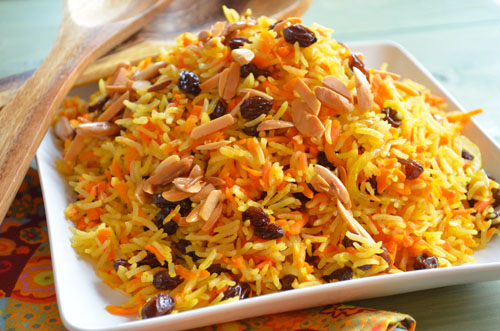 Carraot Rice Recipe