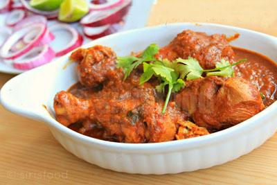 Rajasthani Chicken Curry