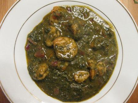 Gongura Pachiroyyalu Curry Recipe