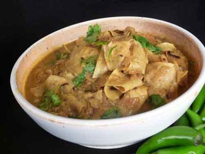 Rajasthani Papad Curry