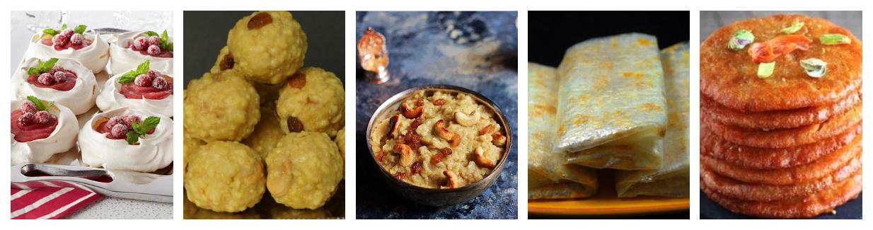 Sweets N Deserts   Indian Food Recipes   Telugu Recipes