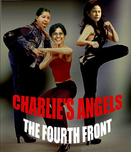CM of Tamil Nadu, has invited her counterparts –Mamta and Mayawati – to join her in launching a new national political alliance called the ABD (Amma – Behenji – Didi) front. Dr. Jayalalitha apparently got this idea after watching the Hollywood blockbuster, 'Charlie's Angels'.