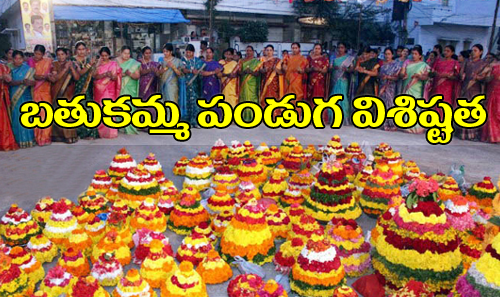 essay on bathukamma festival in telugu