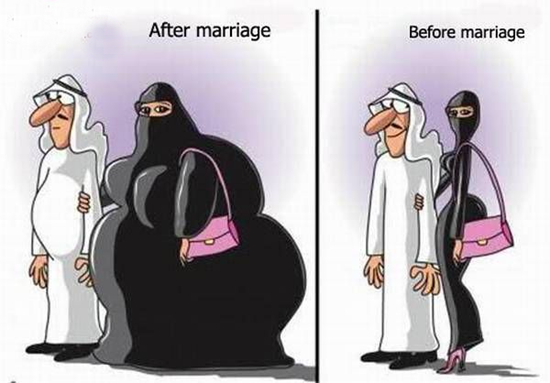 Funny after marriage pictures