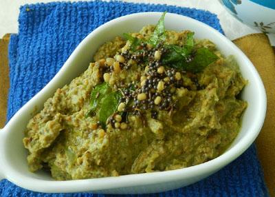 how to prepare idli chutney in telugu