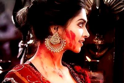 Deepika S Chandelier Rings Ram Leela Earrings Collection