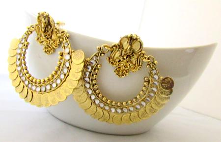 Deepika's Chandelier Rings   Ram Leela Earrings Collection ...